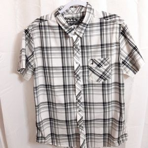 Aeropostale Short Sleeve Button Up Shirt
